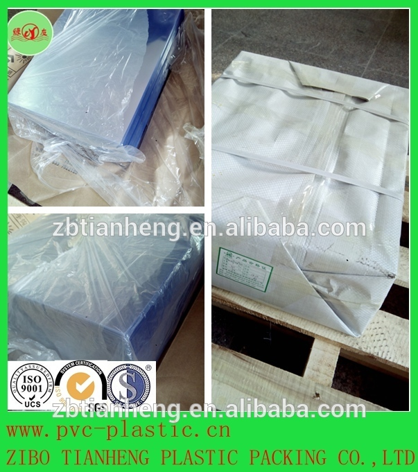 PVC rigid film for food medicine blister thermoforming material
