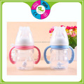 New design FDA Heat Insulation Silicone Baby Bottle