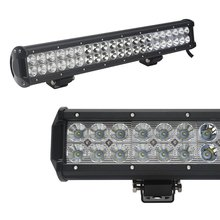 Automobiles &motorcycles Off Road 9-32V Spot/flood/combo double row light bar led offroad light bar126W 20 inch LED light bar