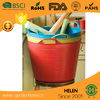 high quality Plastic Round Bucket Plastic Ice Bucket, Made of Plastic, Customized Shapes, Colors and Logos Welcomed