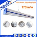 High power 150W industrial lighting led linear warehouse led high bay light