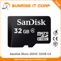 Hot selling best quality sandisk 32gb microsd memory card wholesale
