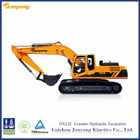 cheap used China JY621E middle tracked hydraulic earth moving equipment for sale