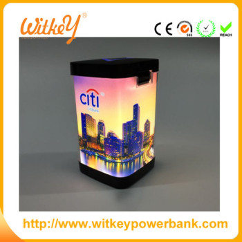 power bank, LED light power bank, convertible advertising and promotional functions of power charger