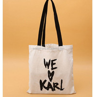 Customized Cotton Tote Bag Shopping Bag With Custom Printed Logo