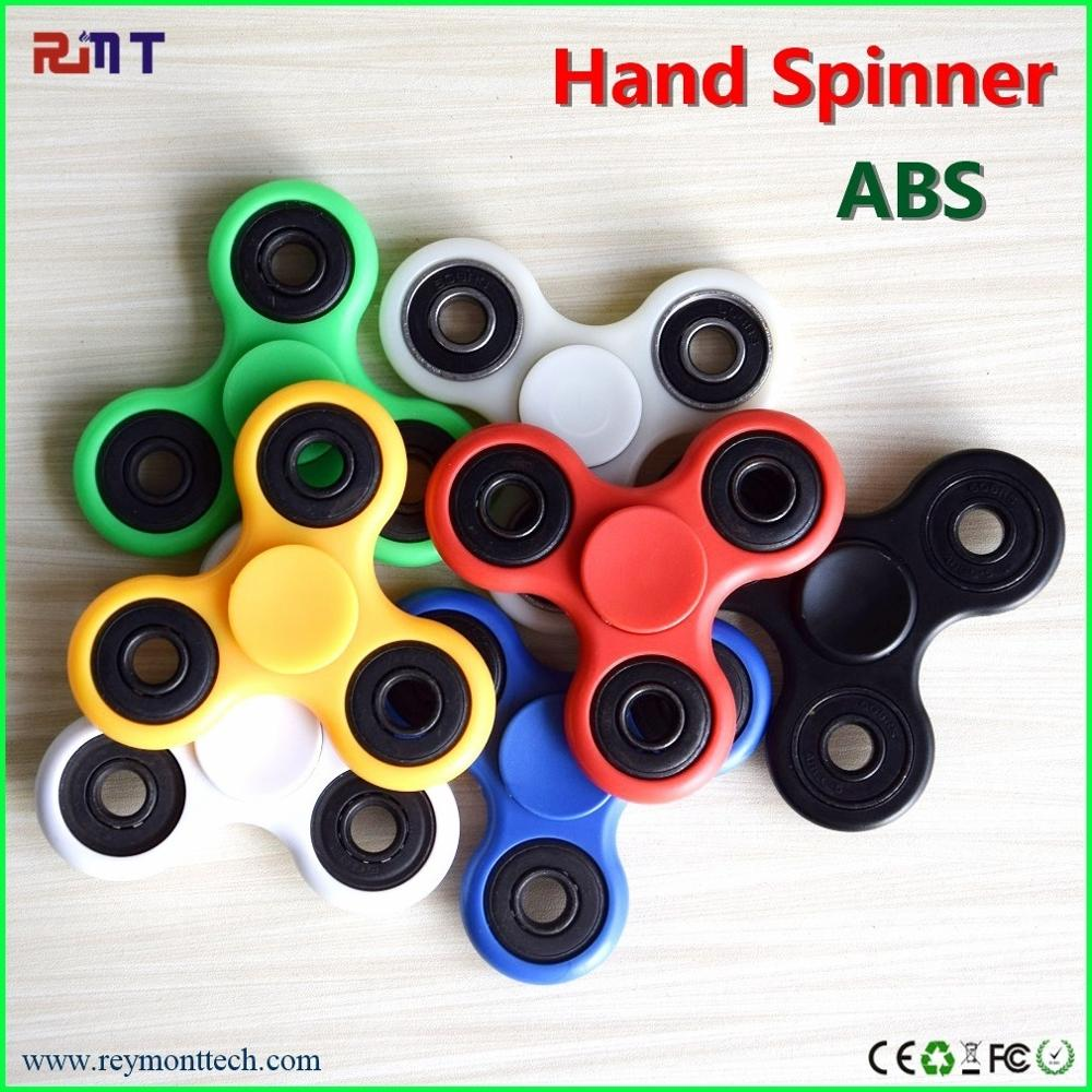 Top quality abs spinner fidget toy hand spinner for anti stress