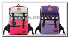 hot selling dual laptop backpack, travel laptop backpack bag, backpack with laptop compartment