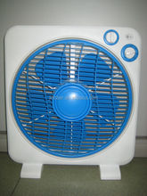 "12"" new design with 120 minute timer square silent Box Fan"