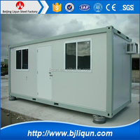 Prefabricated Office 40FT SHIPPING Container Home For Rent