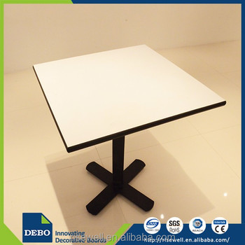 Luxury Grace laminate restaurant resin table tops