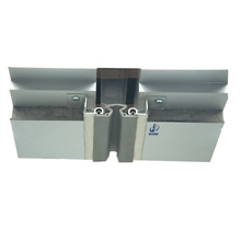 Exterior Facade Aluminum Curtain Wall Expansion Joint