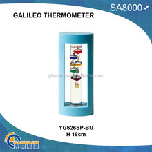 2015 hot sale plastic galileo thermometer