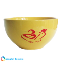 5 Inch Color Solid Glaze Promotional