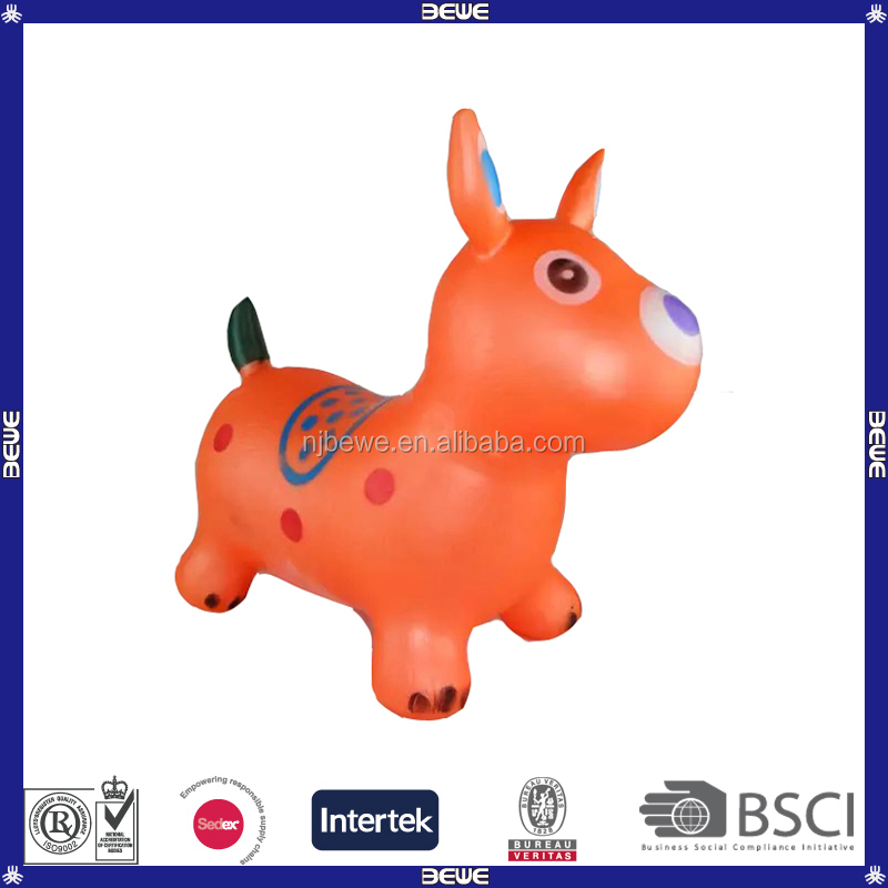 Wholesale dog shape hopper ball/ jumping toys