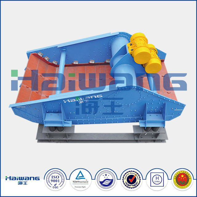 China Haiwang ISO 9001 Vibratory Screeners for Tailing Dewatering