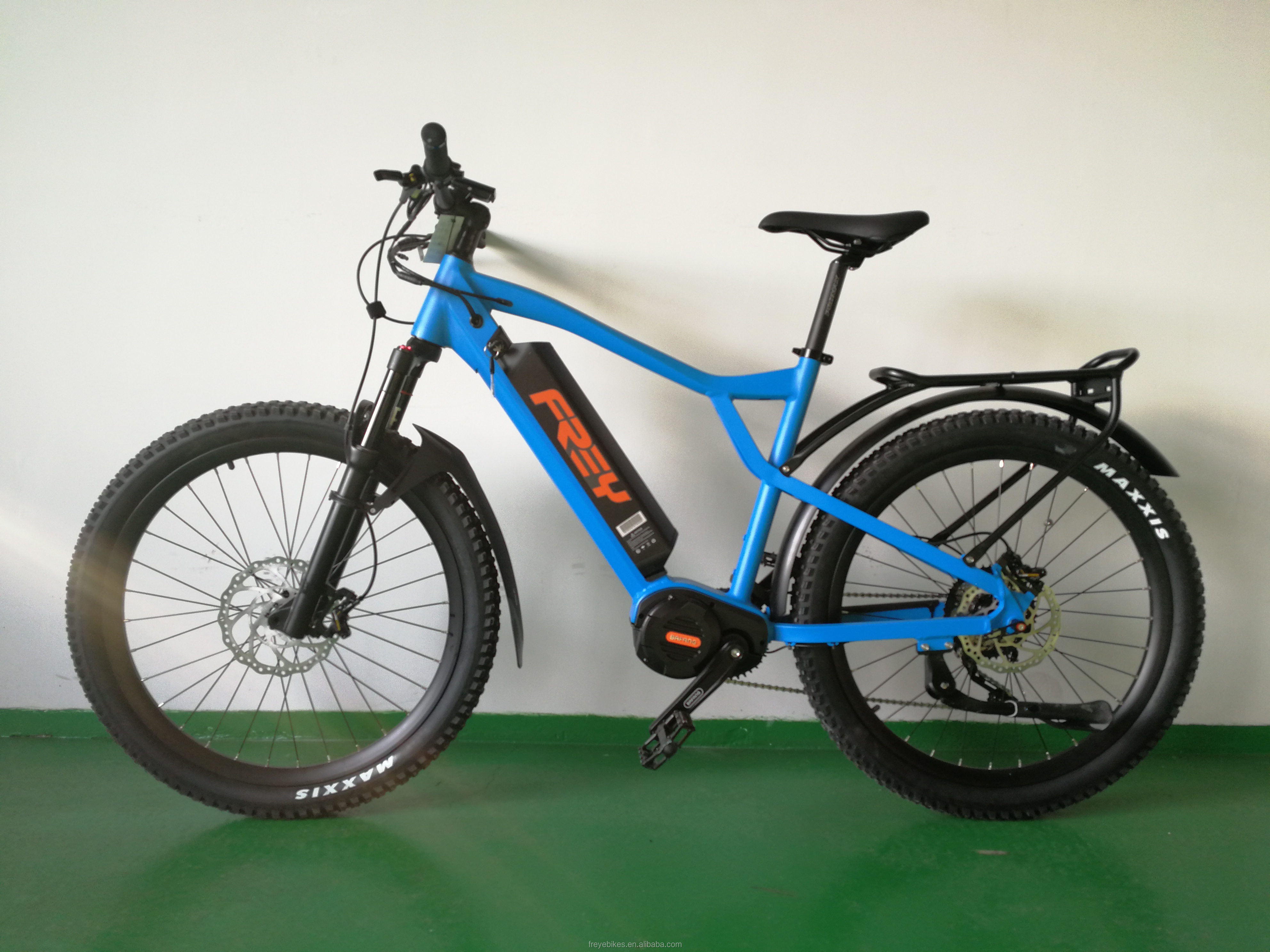 FREY HT1000 48V 1000W Bafang ULTRA G510 mid drive system electric mountain bicycle