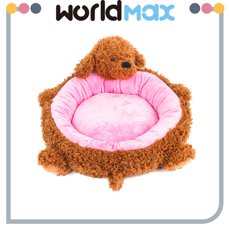 New Products Washable Pet Mat Cozy Cat Bed Plush Dog Kennel