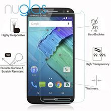 Nuglas Pemium Japan 2.5D 9H Tempered Glass Screen Protector for Motorola Moto X Style