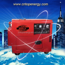2016 Soundproof! Power Value 3kva 5kva 6kvA 220v For Home Use Ultra Silent Diesel Generators