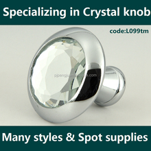 Latest styles crystal glass furniture handles & knobs
