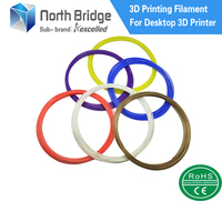 Kexcelled 1.75mm 12 Color Sample Pack abs Filament for 3d pen printer