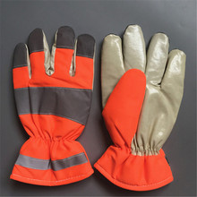 OPTIMA China polar winter biker gloves driving sewed gloves Norway using fluorescence