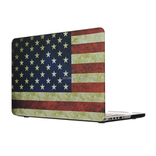 DDC custom pattern design handmade water decal tech matte rubber coated hard PC shell cover for Macbook Pro case for Macbook air