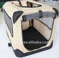 foldable fabric pet cage with steel frame KD0602011