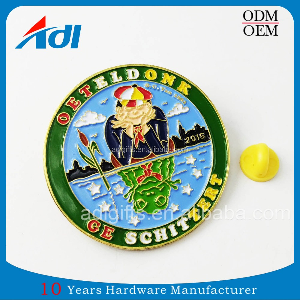 Wholesale promotional products cool soft enamel custom made lapel pins for Special Event