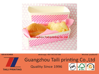 food grade color printed paper tray with high quality