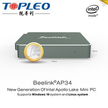 Excellent Performence Set Top Box Beelink AP34 USB3.0 And BT4.0 with mini pc N4200