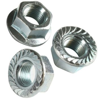 din 6923 stainless steel 304 hex lock flange nut