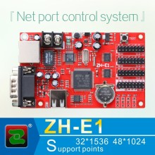 Zhonghang high quality 16x32 P10 outdoor rgb led display module control card ZH-E1