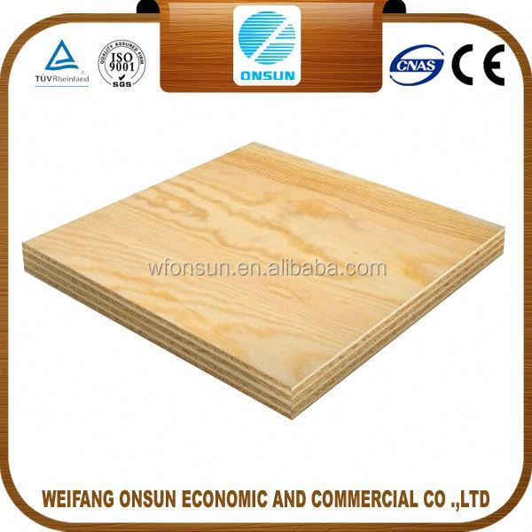 hot sale top quality formwork plywood thickness for sale