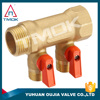 made in China manifold with thread material Hpb57-3 and two way motorized and high pressure and CE cetificate
