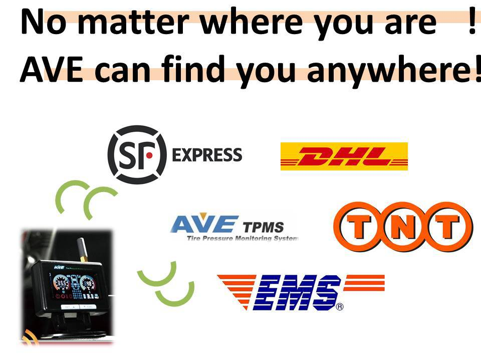 AVE TPMS OE Products for all product line
