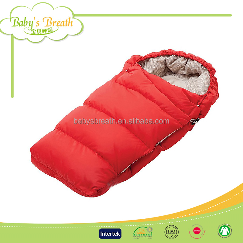 BSB1248 soft warm arctic pole cotton winter baby sleeping bag toddler stroller cover, baby sleeping bag for stroller cover