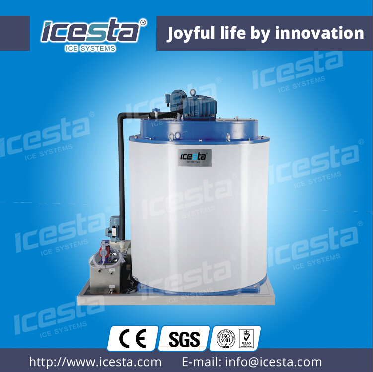 ICESTA Seawater Flake Ice Evaporator Ice generator to the ice