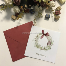 Handmade Greeting Card For Happy New Year And Christmas Day