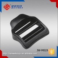 Durable Jianwei plastic 1 inch qucik ladder lock silder backpack buckles JW-M019