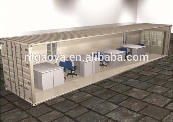 New product 2017 low cost prefab container house with CE certificate