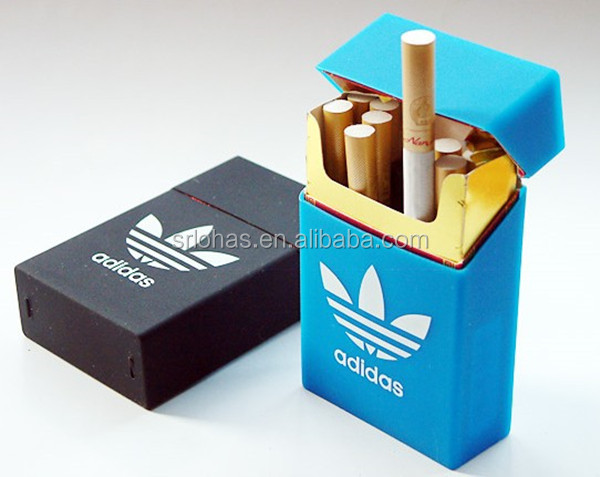 wholesale products new 2014 silicone rubber men cigarette/ tobacco case/box