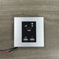 Mini hotel room media hub wall plate/Smart hotel wall socket with audio and Bluetooth