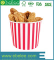Factory price fashionable Ebelee fried chicken paper bucket