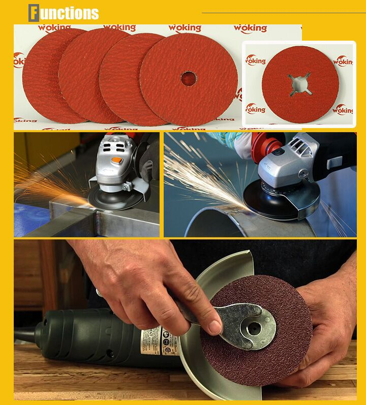 abrasive fiber disc manufacturers for metals&stainless steel