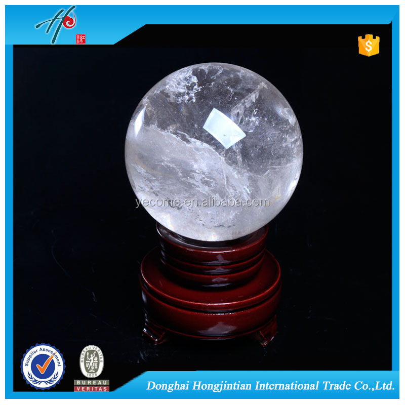 Luxury crystal craft decorative natural smoke quartz crystal balls for sale