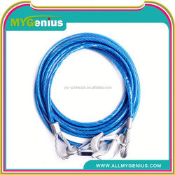 Car pulling rope ,JAs7 chinese cheap car bulk tow ropes tow rope ,car steel towing rope