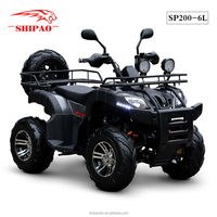 SP200-6L Shipao High configuration 200cc ATV Rough Terrain Vehicle