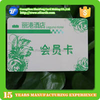 Low cost hotel membership rfid smart cards maker