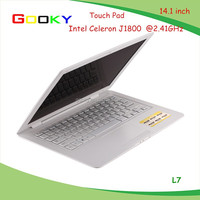 BEST cheapest Intel Celeron J1800 dual core LAPTOP 14.1 inch with camera laptop Manufacturers laptop price china